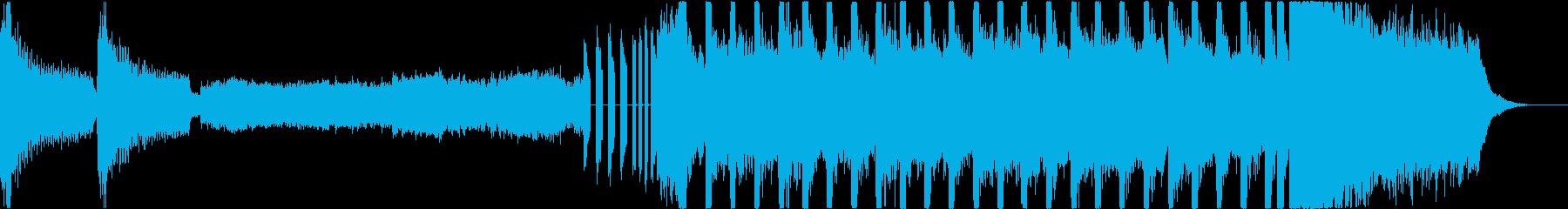 クラシック楽器とEDMの融合の再生済みの波形