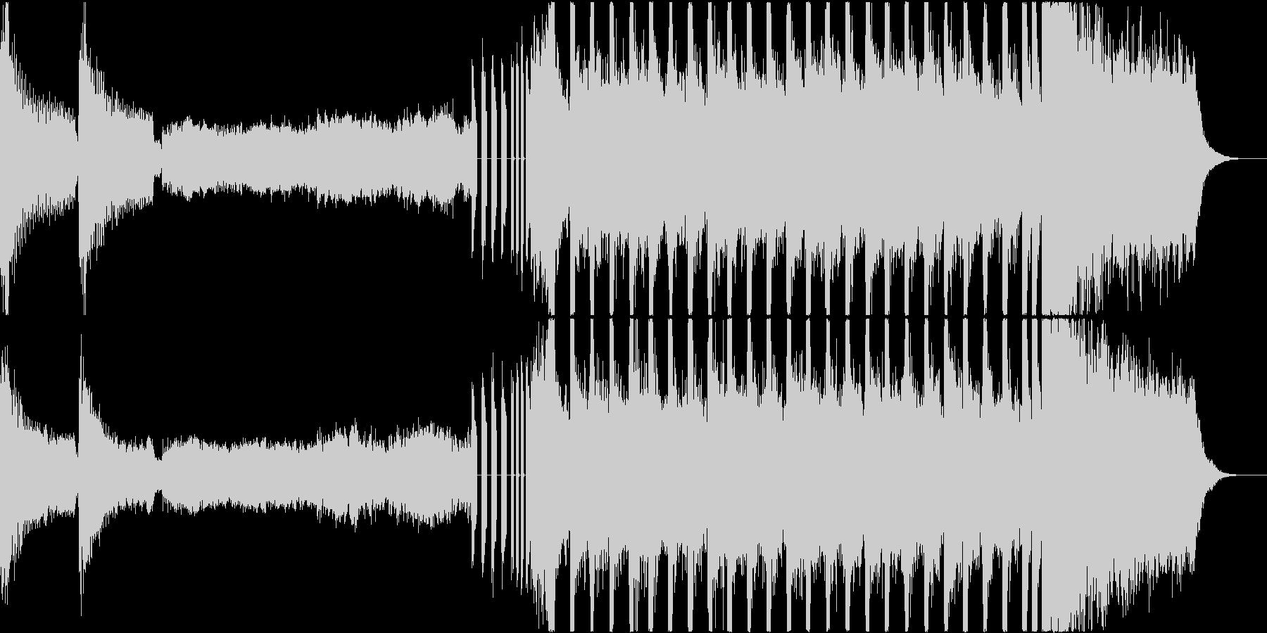 クラシック楽器とEDMの融合の未再生の波形