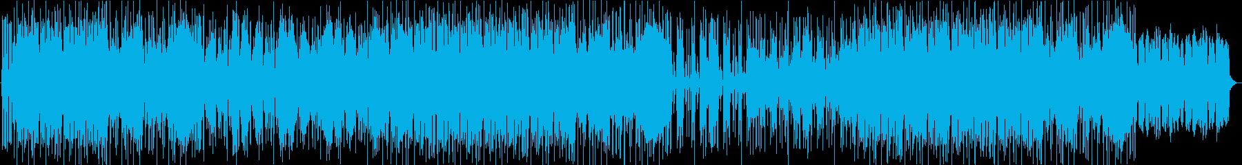 和ロック・おしゃれ・ハネ系の再生済みの波形
