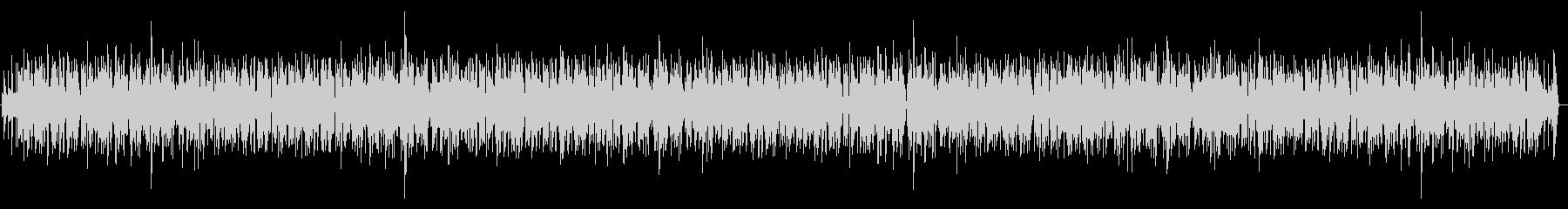 まったりとした感じのピアノBGMの未再生の波形