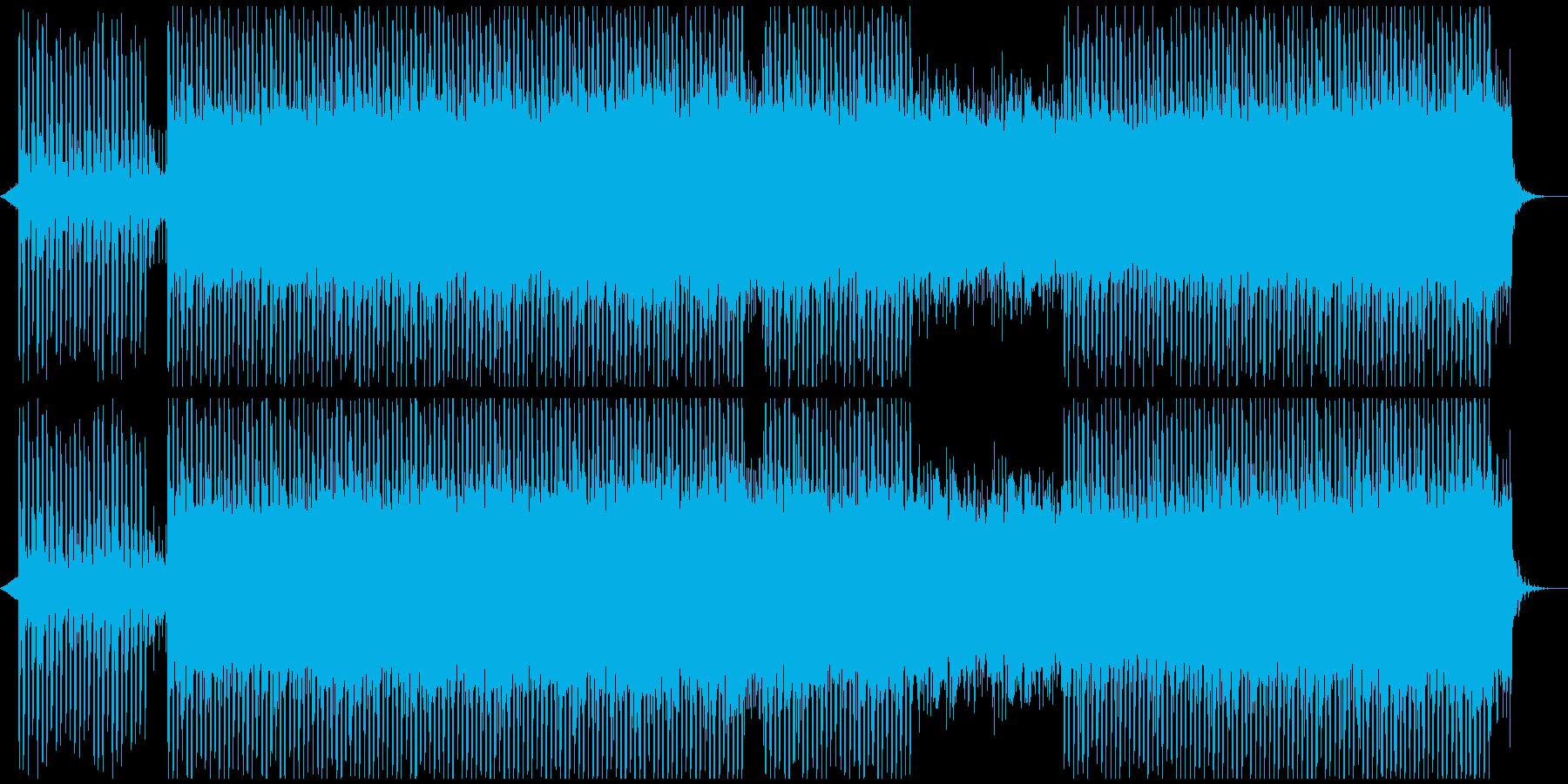 明るい心に強く訴える企業音楽の再生済みの波形