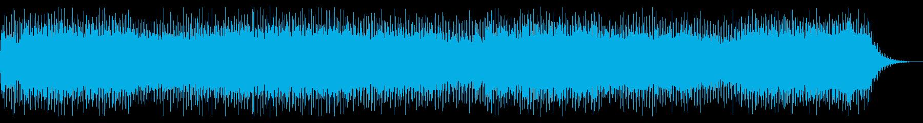 シンセとヴァイオリンとピアノのバトル曲の再生済みの波形