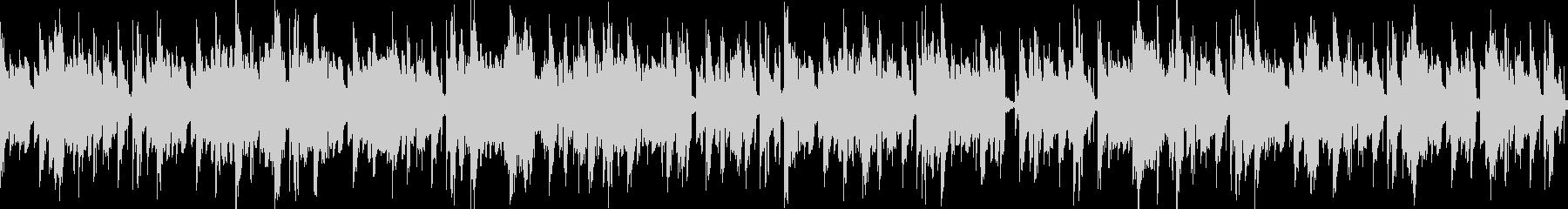 無骨重低音機械的ブイブイループBGMの未再生の波形