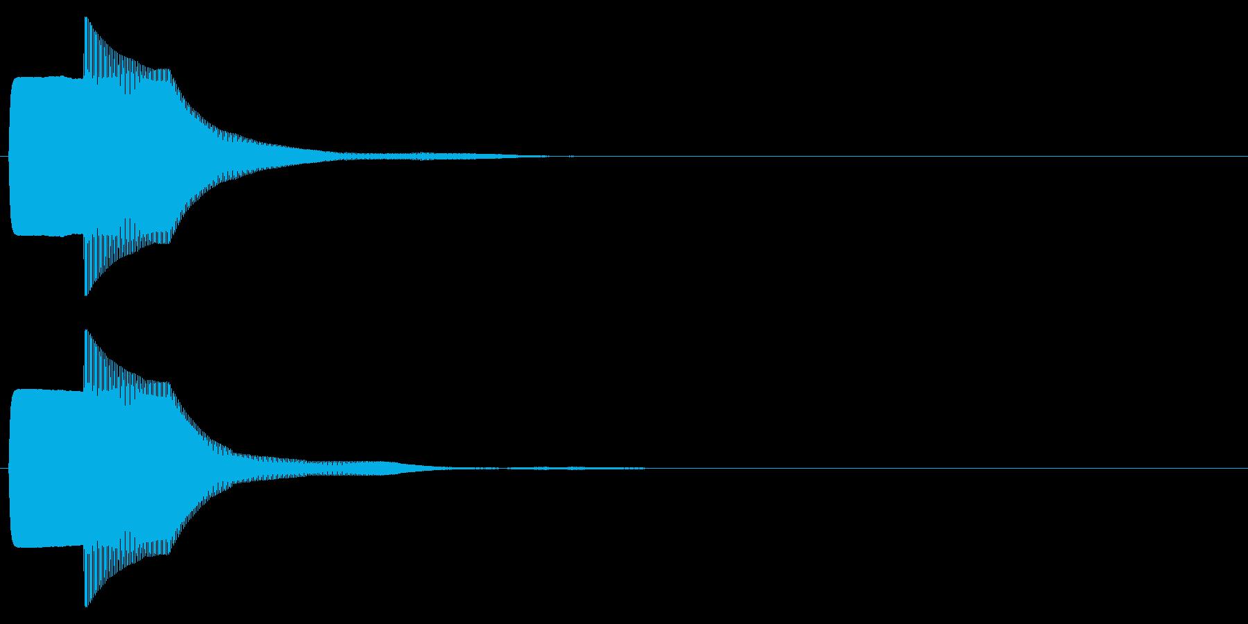 ピコン(キャンセル,終了,停止)_05の再生済みの波形
