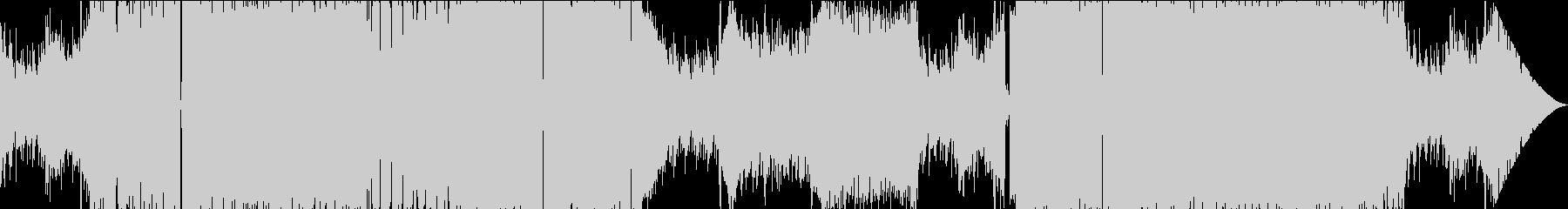 ボカロ系オケの熱いトランス テクノ曲の未再生の波形