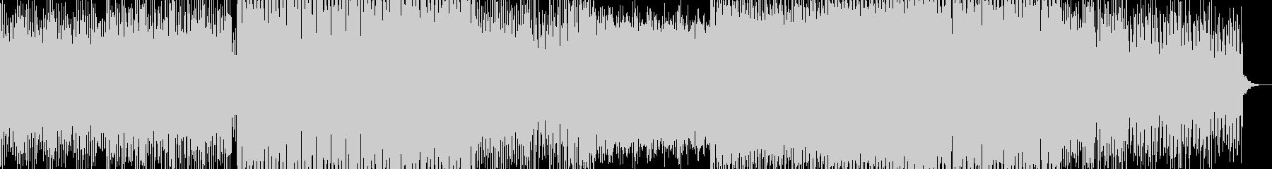 エレクトロ&トランスなモダンBGMの未再生の波形