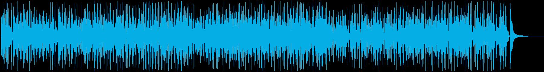 カフェタイムのスムースジャズ♫の再生済みの波形