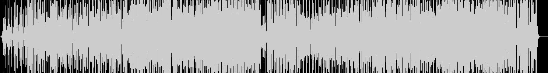 ポップなブラスファンク_トランペットの未再生の波形