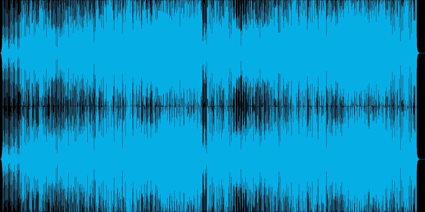 ポップなブラスファンク_トランペットの再生済みの波形