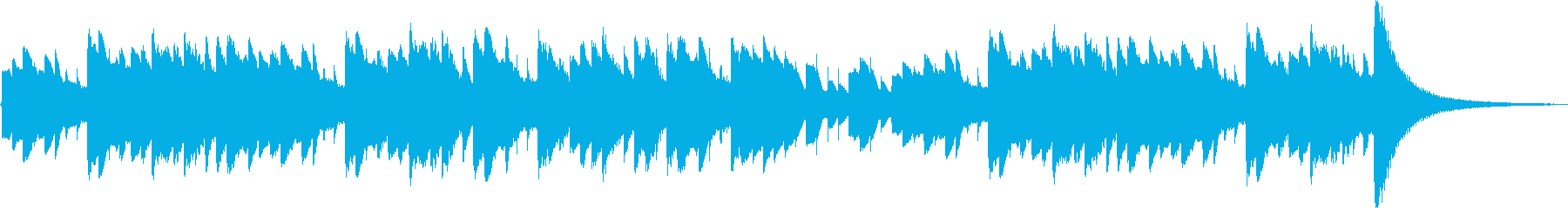 エリーゼのために ベートーヴェンの再生済みの波形