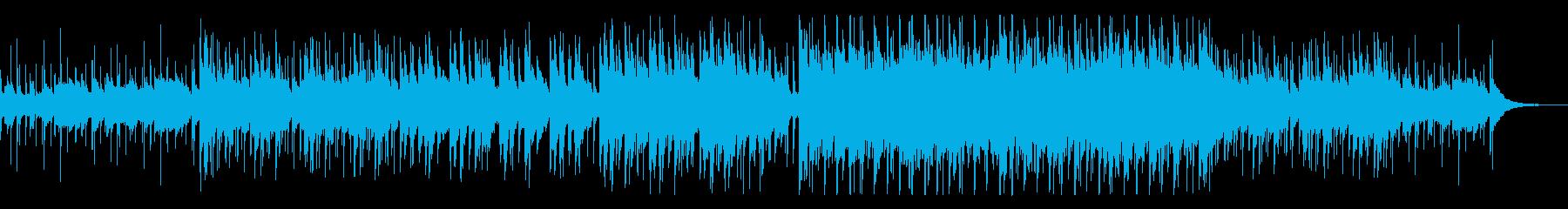 エスニックで怪しげな雰囲気のサウンドの再生済みの波形
