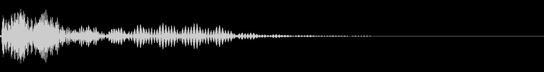 UI/キャンセル/エラー(デデン)の未再生の波形