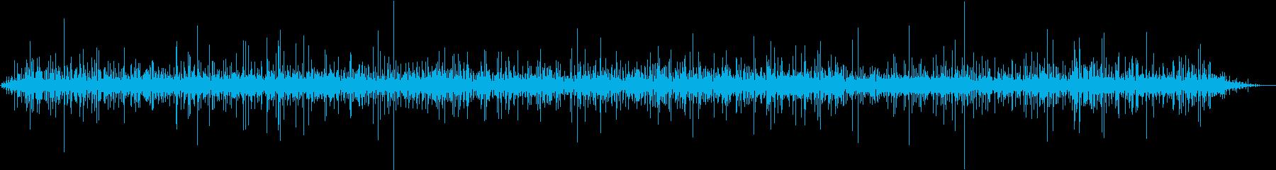 【生録音】側溝に水が流れる音 2の再生済みの波形