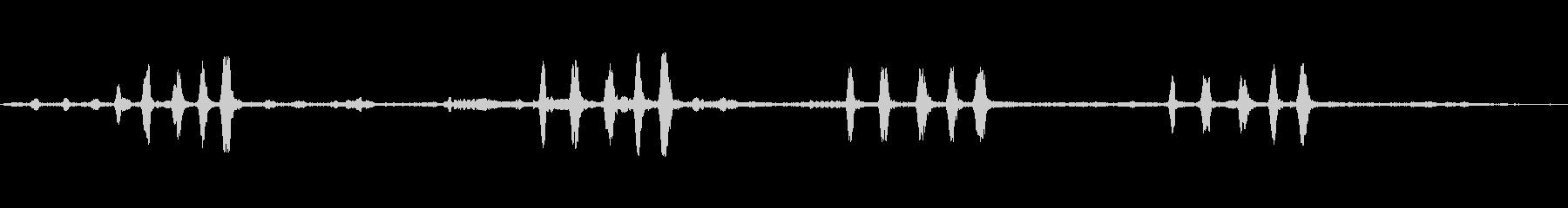 ホトトギスの未再生の波形