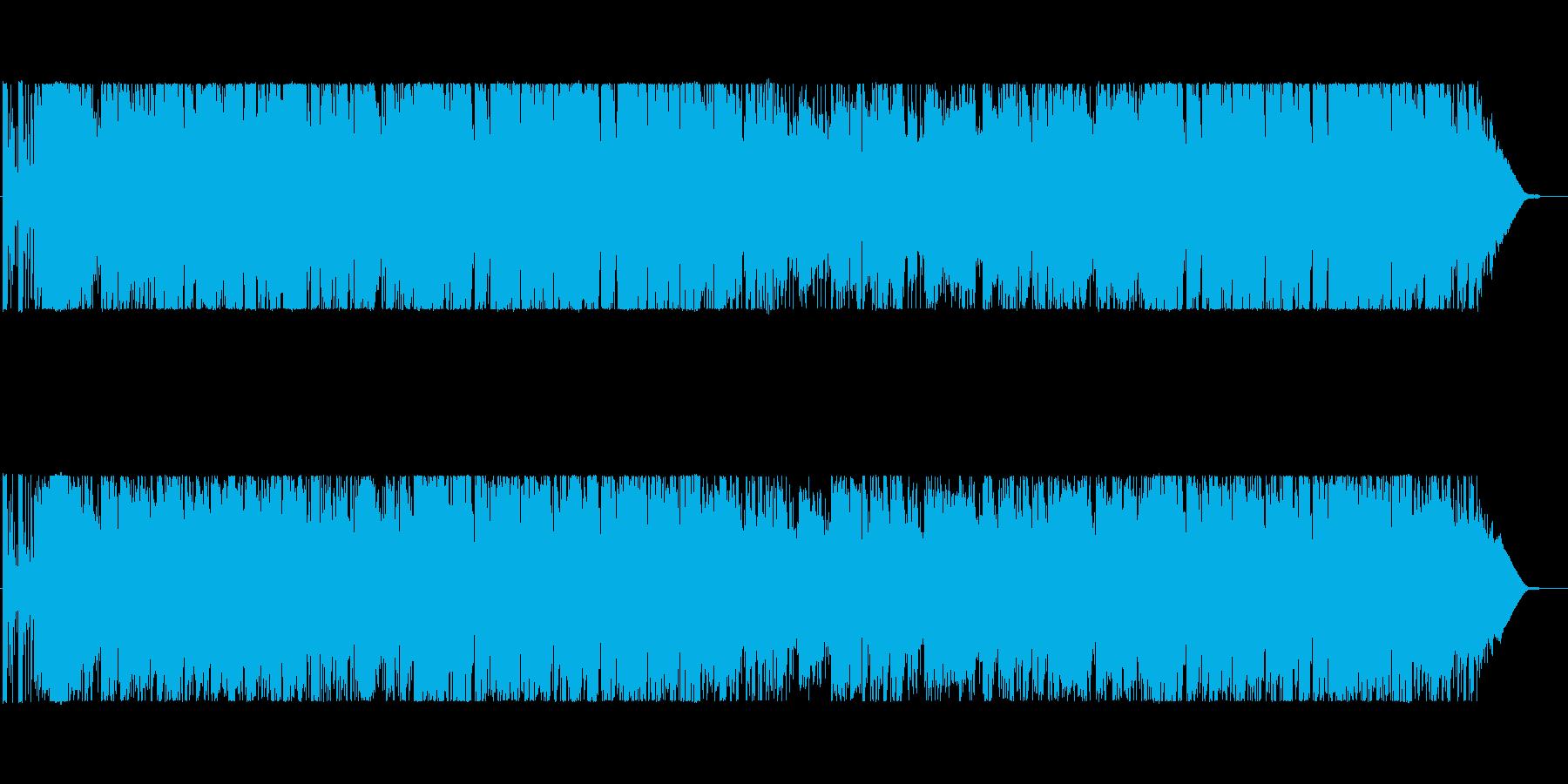 BigBand風の明るくて軽快なPOPSの再生済みの波形