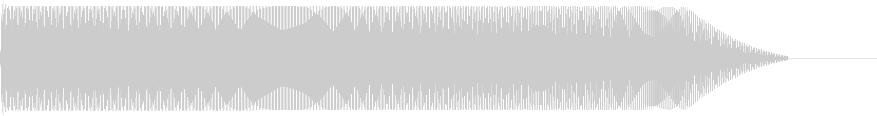 メタルコアベースドロップ C2→C1の未再生の波形