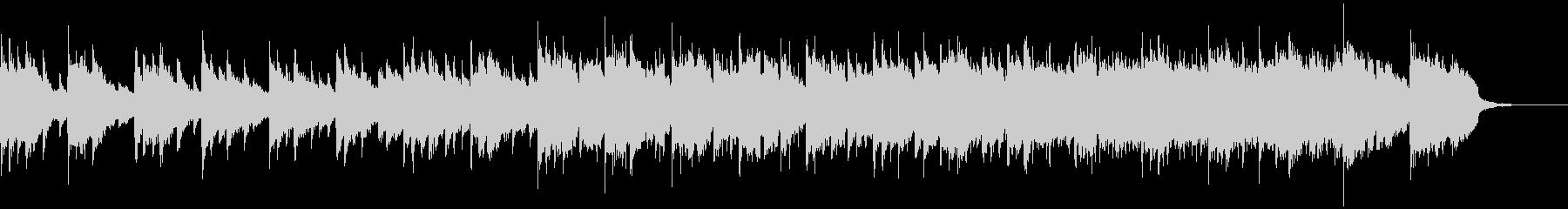 優しい懐かしさのあるBGMの未再生の波形