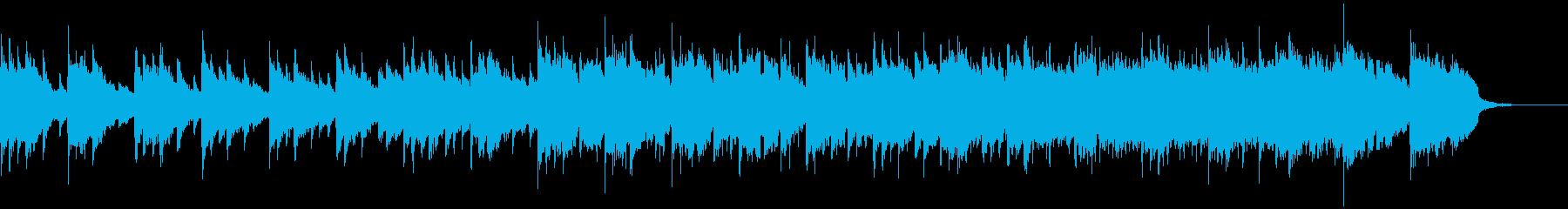 優しい懐かしさのあるBGMの再生済みの波形