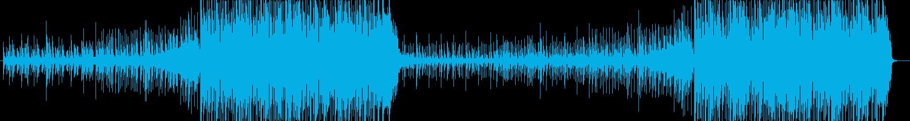 夏・爽やか・Future Bassの再生済みの波形