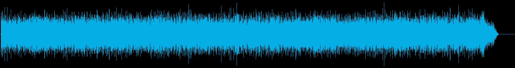 ストレートなポップロックの再生済みの波形