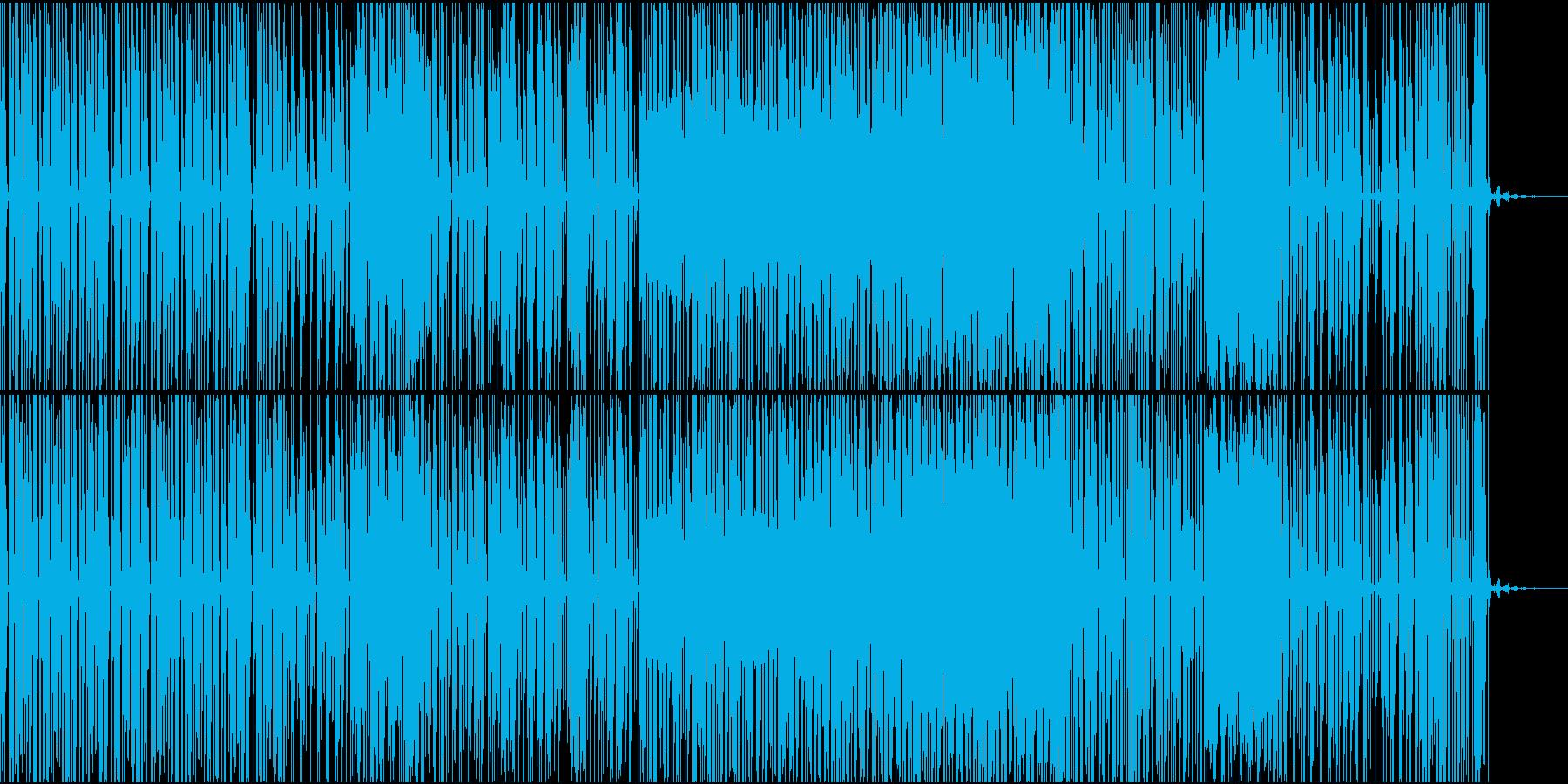 バウンス系BGMの再生済みの波形