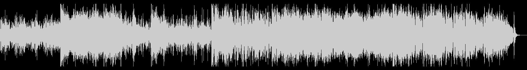 SF感のあるグリッジの効いたシネマBGMの未再生の波形