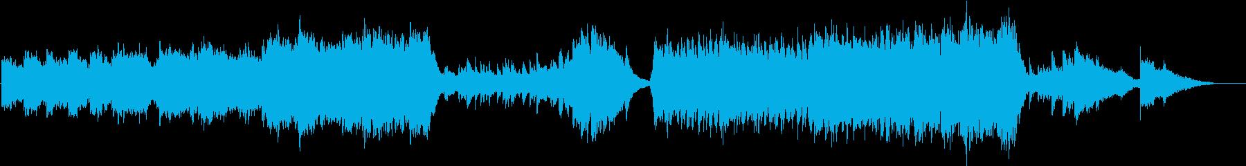 ピアノが印象的なファンタジー音楽の再生済みの波形
