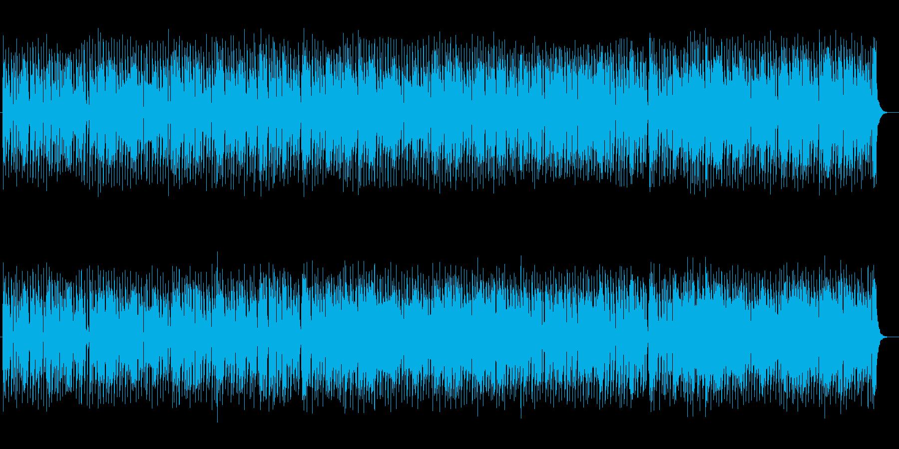 明るいフルート中心のマーチの再生済みの波形