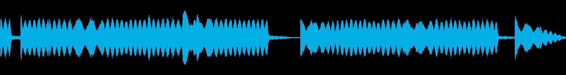 ロボットの起動音の再生済みの波形