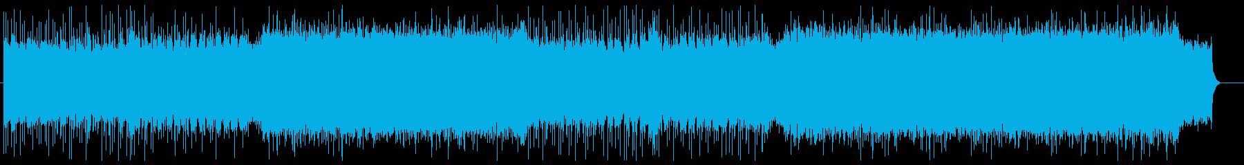 疾走感 物語を盛り上るハイブリッドロックの再生済みの波形