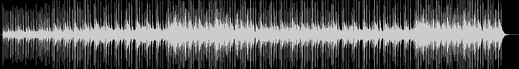 和風_BGMの未再生の波形