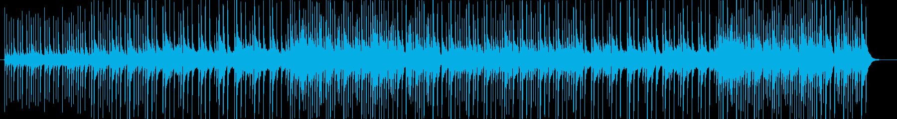 和風_BGMの再生済みの波形