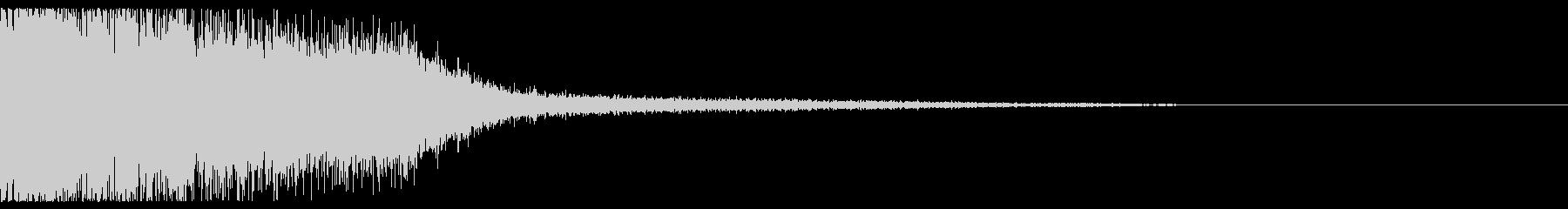 ドカーン(魔法攻撃)の未再生の波形