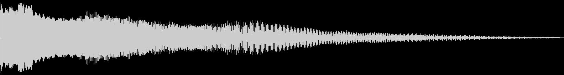 OLDPOWERバージョン1の未再生の波形