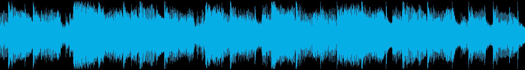 ピアノ演奏を伴う軽くて簡単なポップ...の再生済みの波形