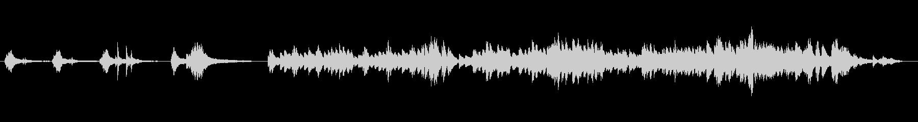 綺麗でうっとりした響きの生ピアノサウンドの未再生の波形