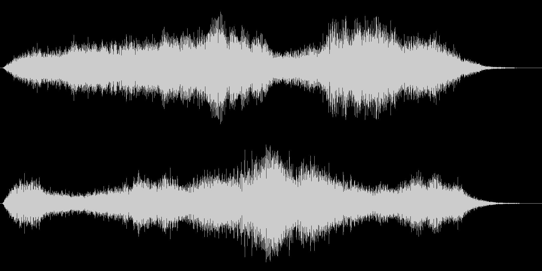 タイトル音の未再生の波形