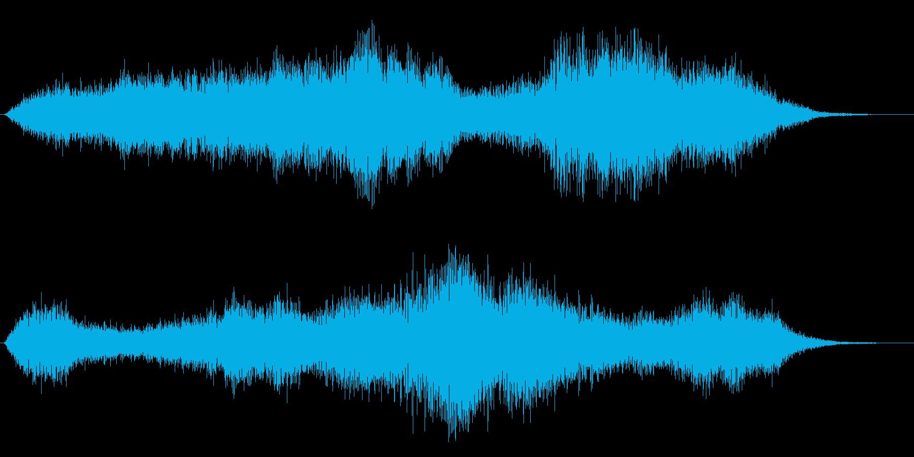 タイトル音の再生済みの波形