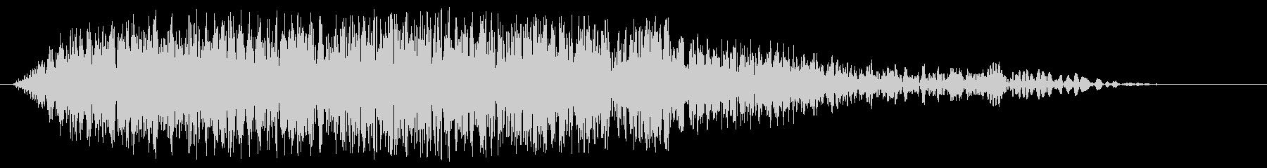 ニュースのオープニングの効果音(速い)の未再生の波形