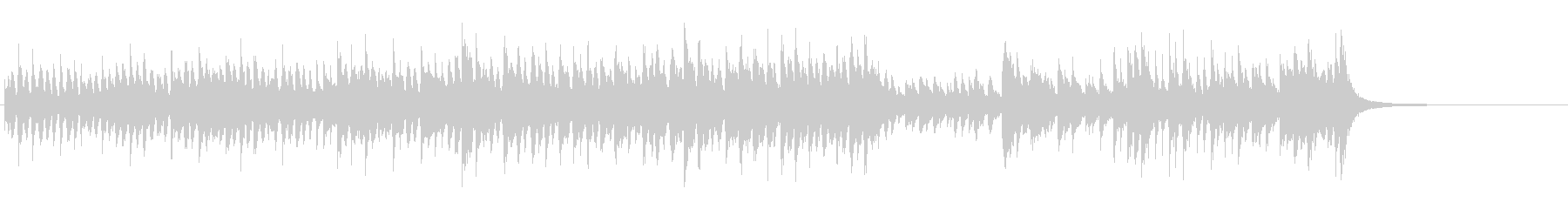 ルーツ・ミュージック(インドネシア風)の未再生の波形