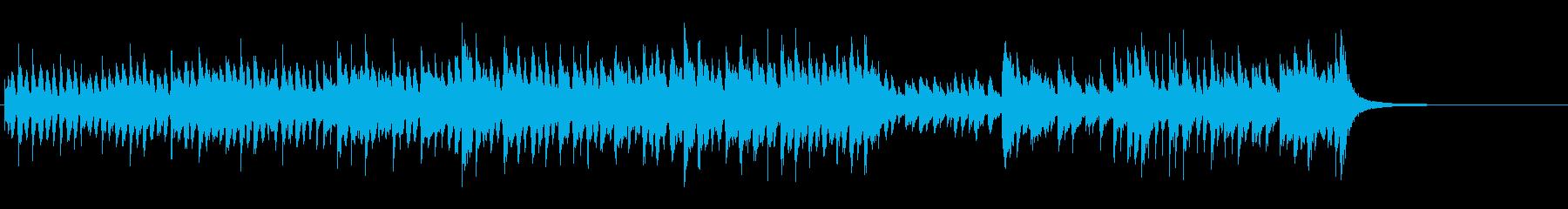 ルーツ・ミュージック(インドネシア風)の再生済みの波形