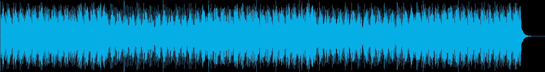 クールなトランス・ハウスミュージックの再生済みの波形