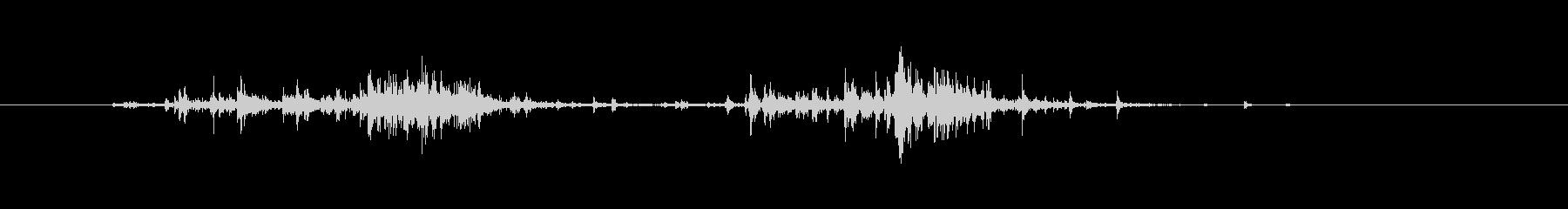 【生活音】サプリボトルふるカプセル01の未再生の波形