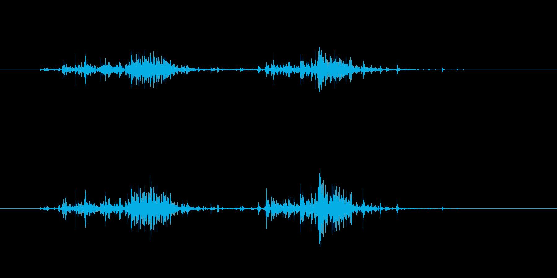 【生活音】サプリボトルふるカプセル01の再生済みの波形