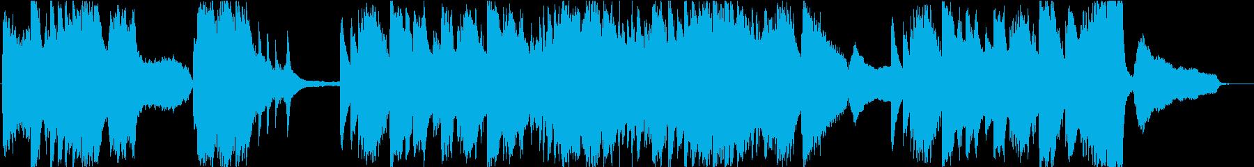 ショパン風 哀愁漂うピアノソロの再生済みの波形
