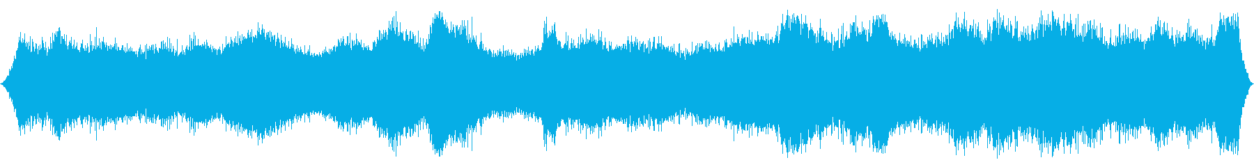 オーシャン:波が中に入ってきて、ヘ...の再生済みの波形