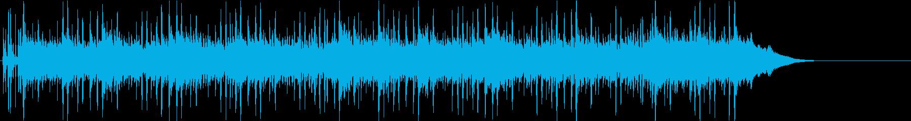 シンプルなピアノメロ。浮遊感。EDM。の再生済みの波形