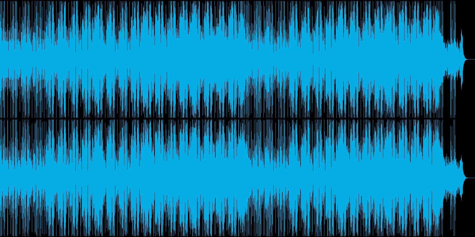 明るく陽気なファンクミュージック!03の再生済みの波形