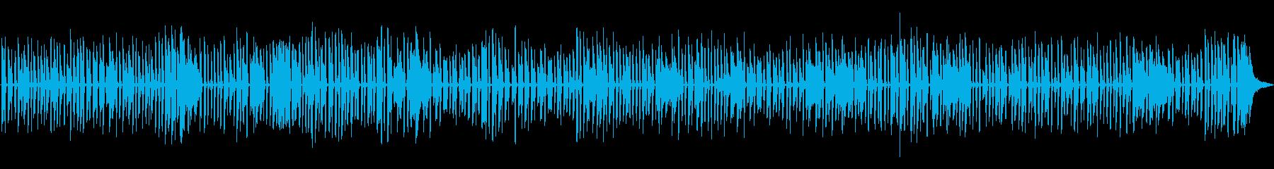 ほのぼのした古めかしいソロジャズピアノの再生済みの波形