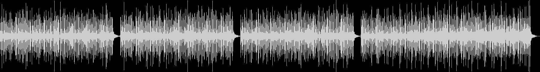 跳ねるピアノ 軽快なリズム オーケストラの未再生の波形